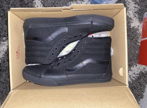 All black high top vans brand new size 9 for Sale in Aurora, CO