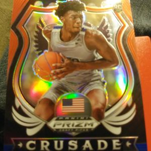James Wiseman Crusade Silver+ Red White And Blue for Sale in Checotah, OK