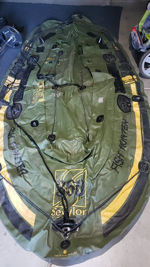 Sevylor Fish Hunter 360 Inflatable Raft for Sale in Turlock, CA