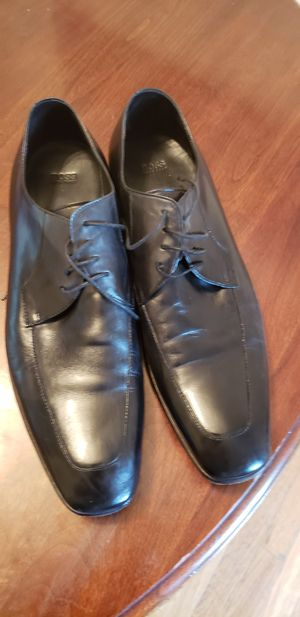 Hugo Boss real leather dress shoes size 14 for Sale in Lakewood, CO