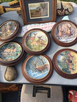 Bruce Miller plates $20 for all for Sale in Christiansburg, VA