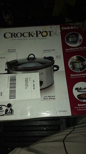 Crock pot 6 quart for Sale in Nashville, TN
