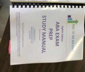 Pass the Big ABA Exam book for Sale in Orange, CA