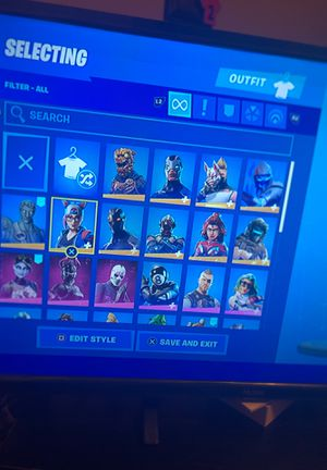 Fortnite acc for Sale in Channelview, TX