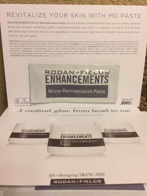 R+F Rodan and Fields Microdermabrasion Paste Samples for Sale in Las Vegas, NV
