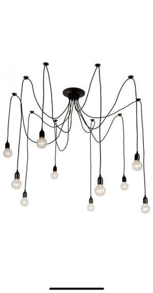 10-light Modern Cluster Pendant Chandelier for Sale in Germantown, MD