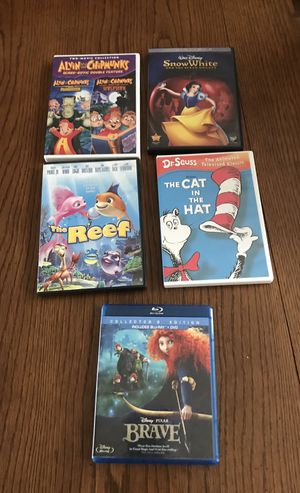 Disney Classic and Masterpiece series Cds and VHS tapes for Sale in Rockville, MD