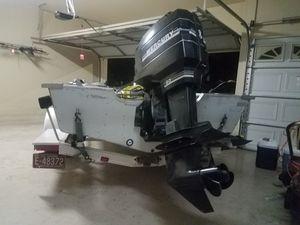 Bass boat.alumium . for Sale in Glendale, AZ