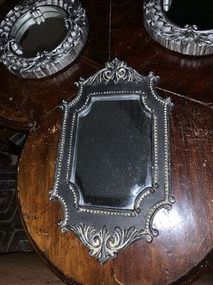 Set of 3 vintage decorative mirrors for Sale in Cary, NC