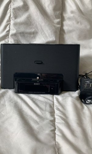 Sony Alarm Clock/IPhone dock for Sale in Woodbridge, VA