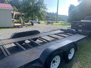16ft car hauler w/winch for Sale in Decatur, GA