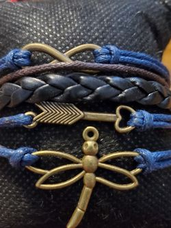 Blue Bronze Bracelet for Sale in Wenatchee,  WA