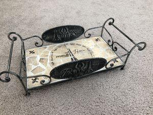 Home Decor- Paris themed tray for Sale in Arlington, VA