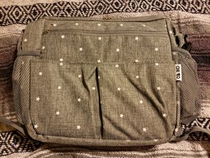 Gray Ozziko Insulated Diaped Bag with Stars NEW for Sale in Winchester, CA