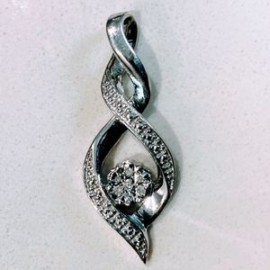 925 Silver & Cubic Zirconiac Pendant for Sale in Fullerton, CA