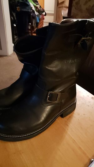 Triumph motorcycle riding boots for Sale in Tacoma, WA