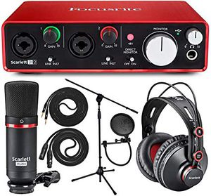 Scarlett Full Recording Equipment 250 will negotiate for Sale in Florida City, FL