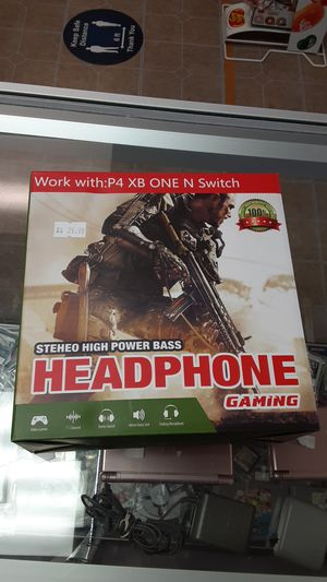 Gaming headphones PS4 Xbox One Nintendo switch for Sale in Avondale, AZ