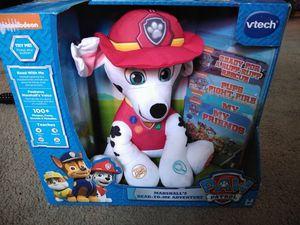 New Paw Patrol Marshall Read-to-Me Adventure Toy with lights for Sale in Maywood, CA