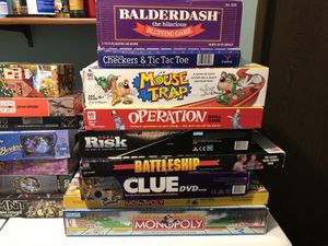 Bunch of great board games and puzzles for Sale in Tacoma, WA