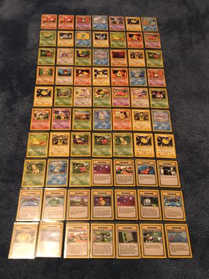 Vintage Neo Genesis Pokemon Card Lot of 70 in Plastic Sleeves for Protection for Sale in Manalapan Township, NJ