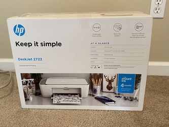 HP DeskJet 2722 Home Printer for Sale in Beaverton,  OR