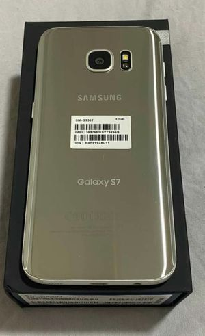 SAMSUNG Galaxy S7, Factory Unlocked, Excellent condition As like new. for Sale in Springfield, VA