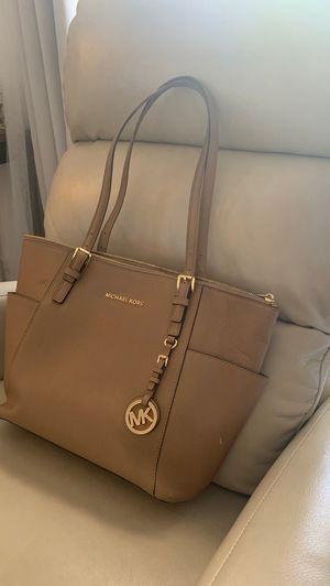 Michael Kors medium tote bag purse tan beige for Sale in Denver, CO