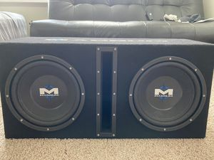 Magnum Subs w/ amplifier for Sale in Brandon, FL