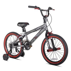 "Kent 18"" Boys, Abyss FS18 BMX Bike, Silver, For Ages 6-9 for Sale in Atlanta, GA"