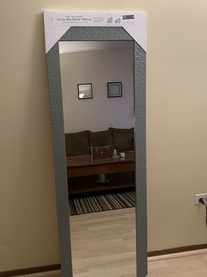 Over the door mirror new 14x50 for Sale in Wheeling, IL