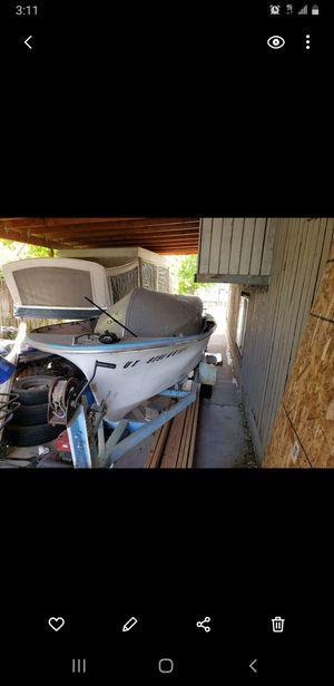 2 fishing boats. Aluminum/ fiberglass for Sale in Salt Lake City, UT