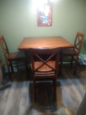 Table & 3 chairs for Sale in Fresno, CA