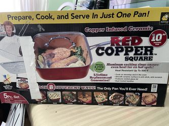 RED COPPER SQUARE PAN for Sale in City of Industry,  CA