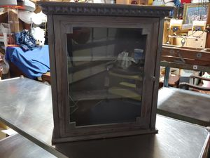 WOOD & GLASS SHELF for Sale in Plant City, FL