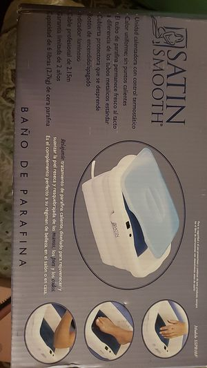 Satin smooth paraffine spa bath for Sale in Roxana, IL