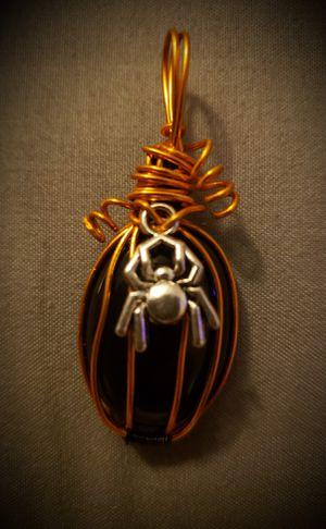 Black Onyx Halloween Pendant for Sale in Salt Lake City, UT