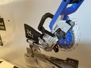 New, Never Opened! Kobalt 24V Miter Saw + Battery, Charger, USB 24V Chrg, Table & More for Sale in Beaufort, SC