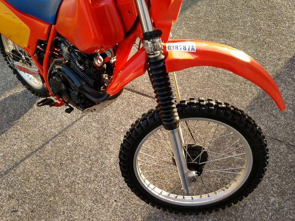 Beautiful! 1984 Honda XR200R 4 Stroke Dirt Bike - All Original - Extremely Low Miles / Search XR, 200cc, Dirt Bike, Vintage Honda, Motorcycle