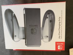 Nintendo switch charging grip smoke clear black new for Sale in Miami, FL