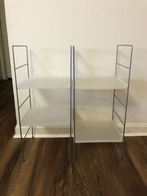 2 Metal Shelves for Sale in Arlington, VA