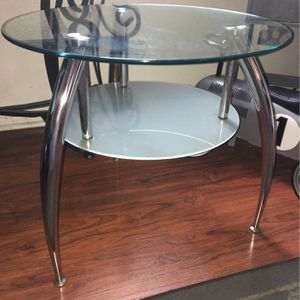 2 End Glass Tables for Sale in Long Beach, CA