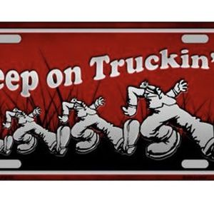 New Keep On Truckin Metal Plate for Sale in Miami, FL