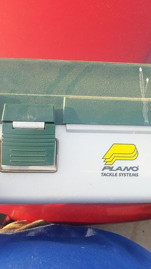 Fishing tackle box for Sale in Moreno Valley, CA