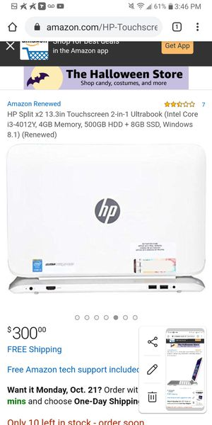 Hp beata audio split laptop for Sale in Cleveland, OH