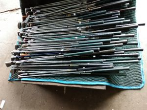 120 golf clubs all different shapes and sizes and $ 150 cash for Sale in Baltimore, MD
