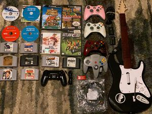 Games,controllers and accessories for Sale in Lakeland, FL
