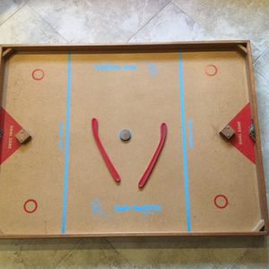 Nok Hockey Board with Two Sticks and a Puck for Sale in Fort Lauderdale, FL