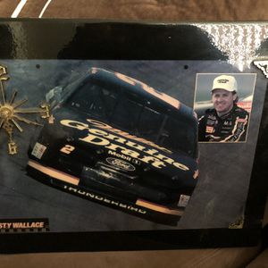 NASCAR Rusty Wallace Vintage Clock Sign for Sale in Baltimore, MD