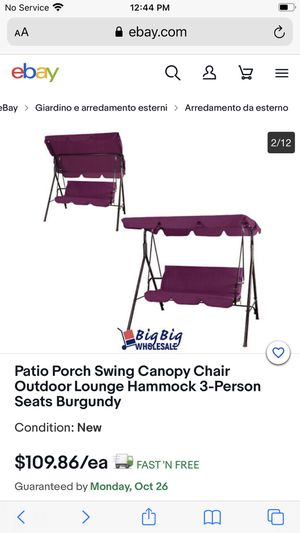 Patio Swing for Sale in Commerce, CA